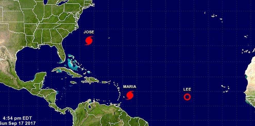 María se convierte en huracán rumbo a las Antillas y Puerto Rico