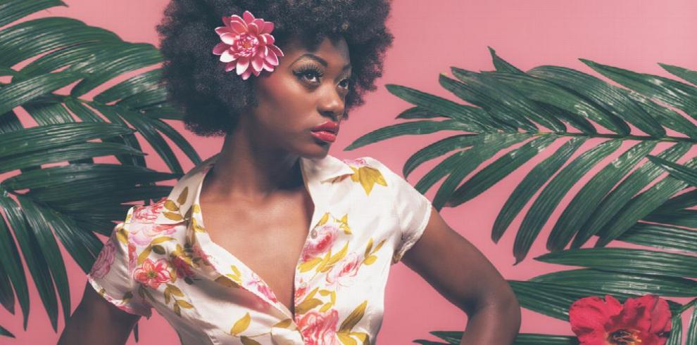 Para resaltar la belleza afropanameña