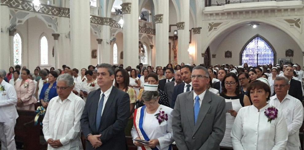 Un homenaje a las profesionales de la enfermería en Panamá