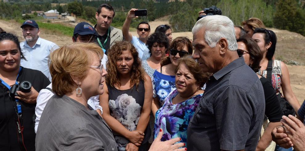 Bachelet se siente
