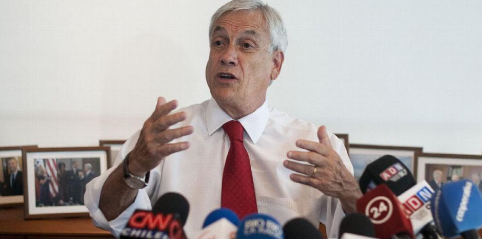 Justicia chilena acepta querella contra Piñera