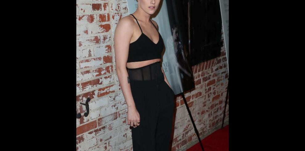 Kristen Stewart, platinada y rapada
