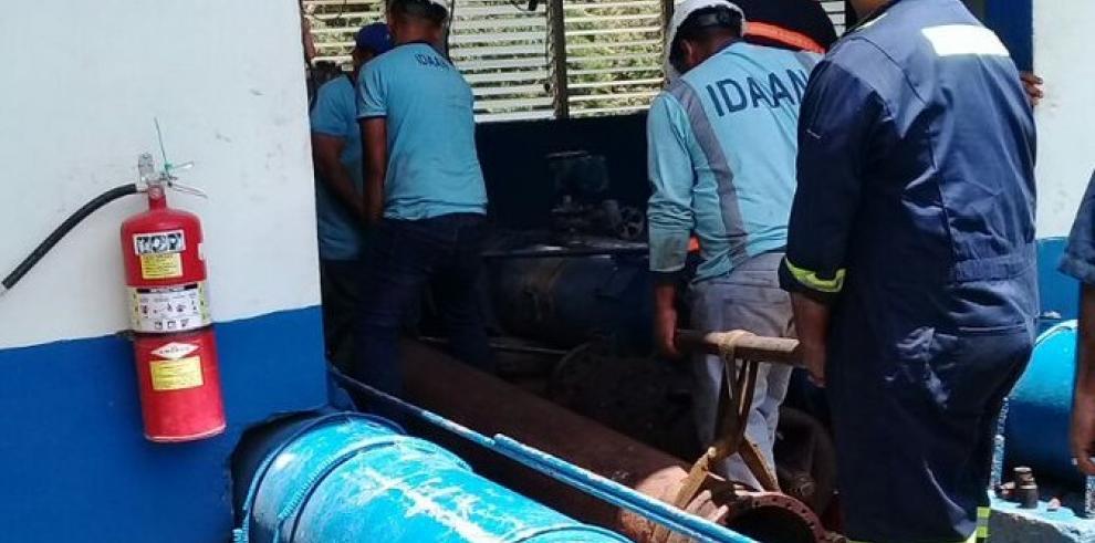 Trabajos en la estación de bombeo afectará el suministro de agua