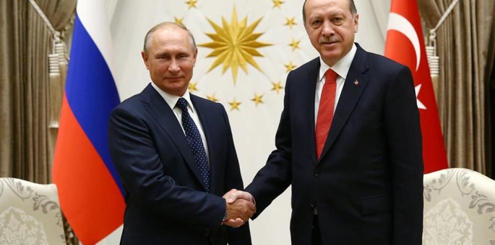 Putin y Erdogan creen que decisión sobre Jerusalén amenaza estabilidad regional