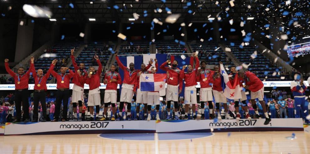 Panamá conquista la presea dorada en el baloncesto de los Centroamericanos