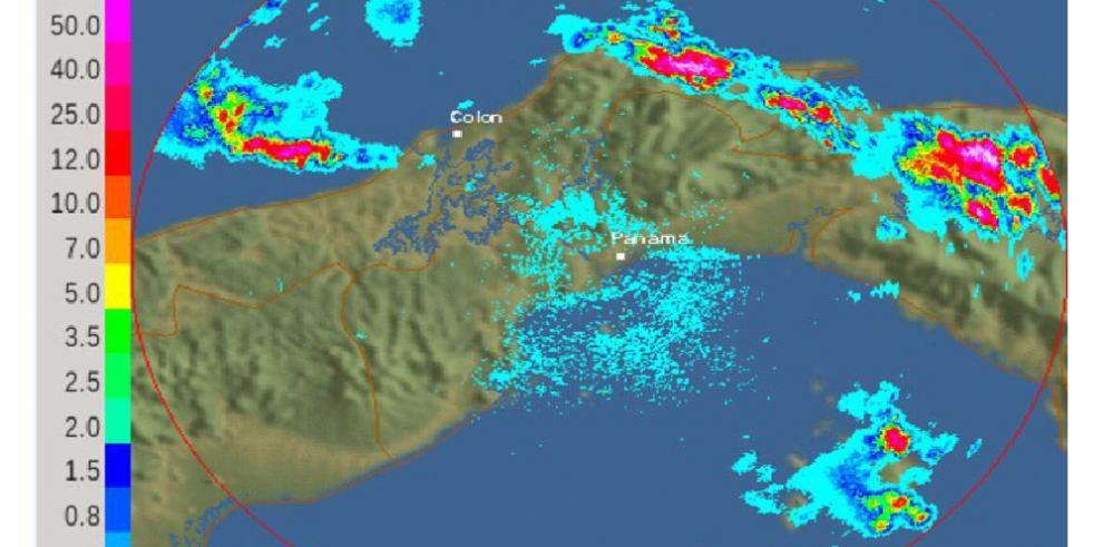 Sinaproc: emite aviso de prevención delluvias, aguaceros y tormentas