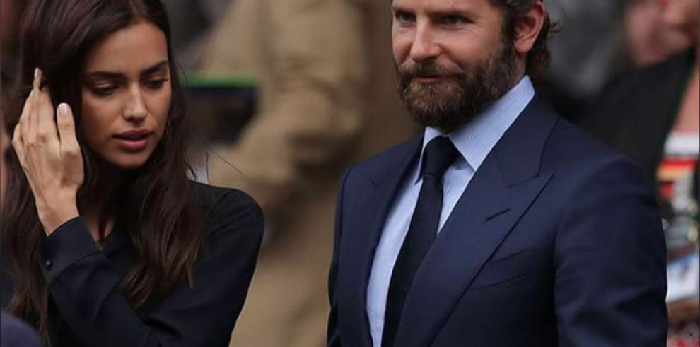 La modelo Irina Shayk y el actor Bradley Cooper son padres de un bebé