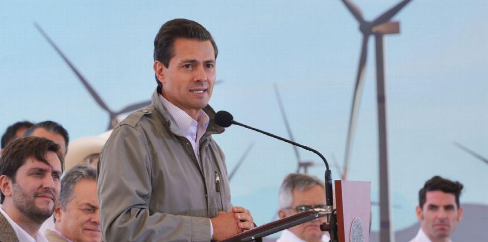 Inauguran parque eólico en el norte de México