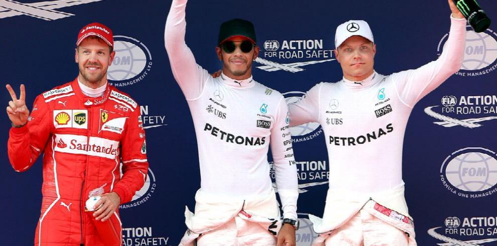 Vettel conforme con su tiempo