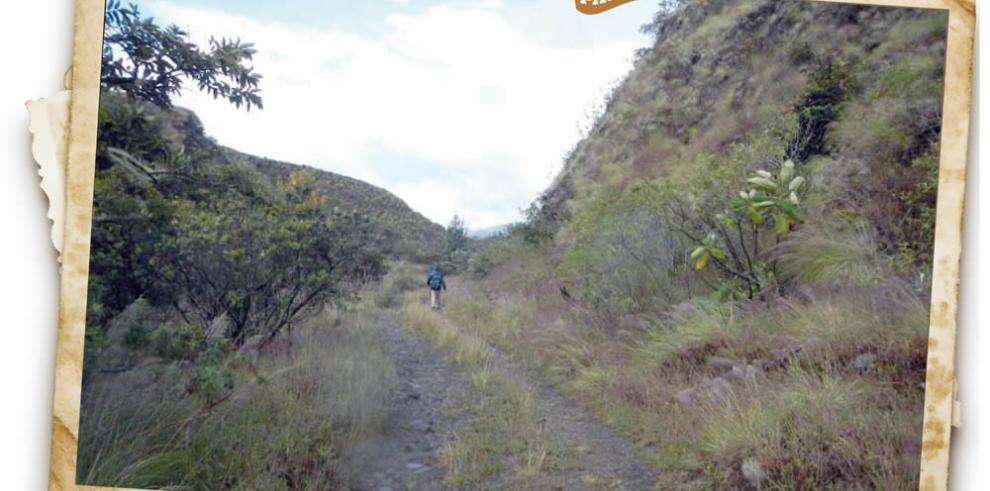 La ruta del Barú, hasta lo más alto