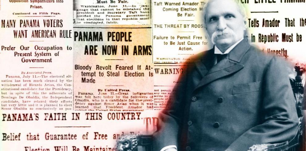 'Obaldía o revolución': crisis electoral de 1908