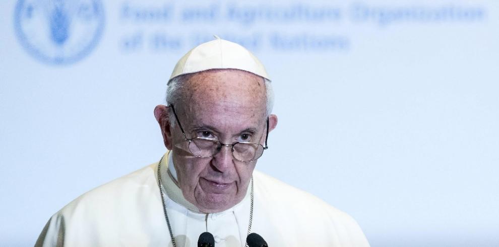 El papa reclama más esfuerzos para combatir el hambre ante ministros del G7