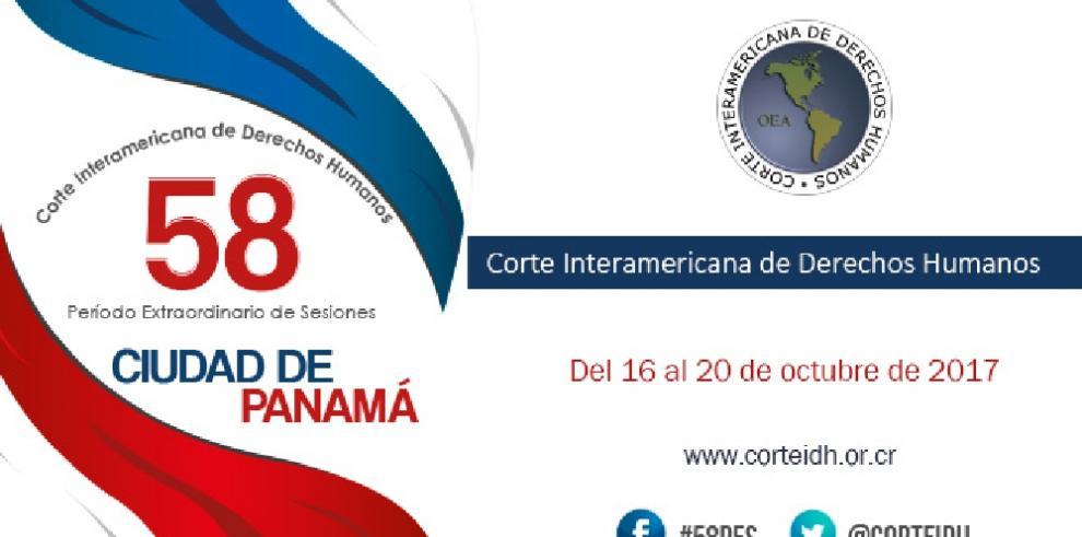 Hoy se inicia período extraordinario de sesiones de la CIDH en Panamá