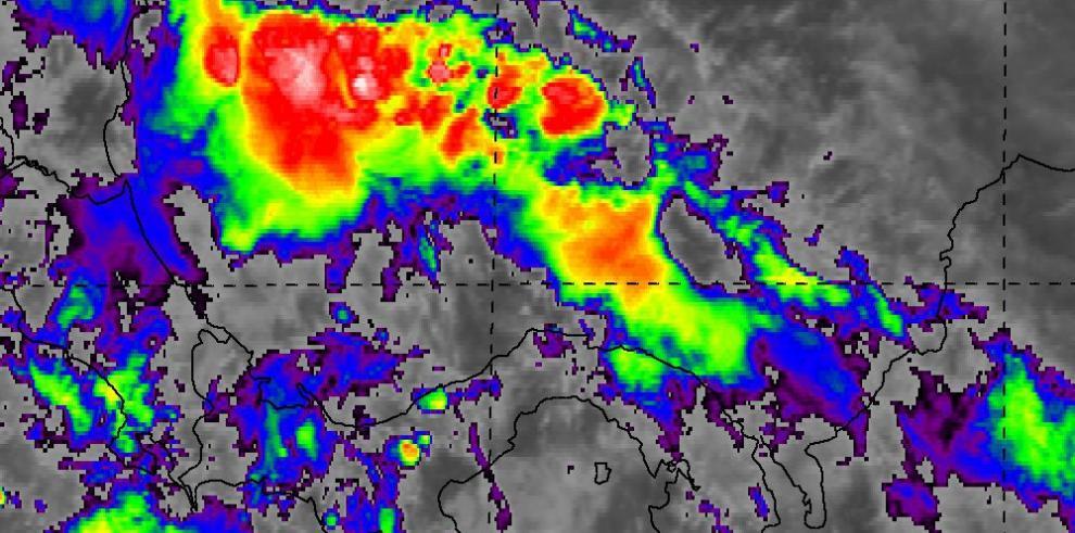 Sinaproc emite aviso de prevención de lluvia con tormenta eléctrica