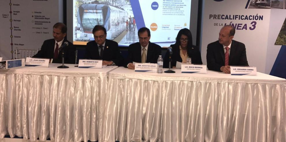 Precalificación de Línea 3 del Metro atrajo a nueve consorcios