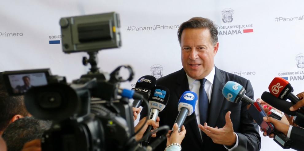 Panamá y EEUU son socios estratégicos, dice Varela
