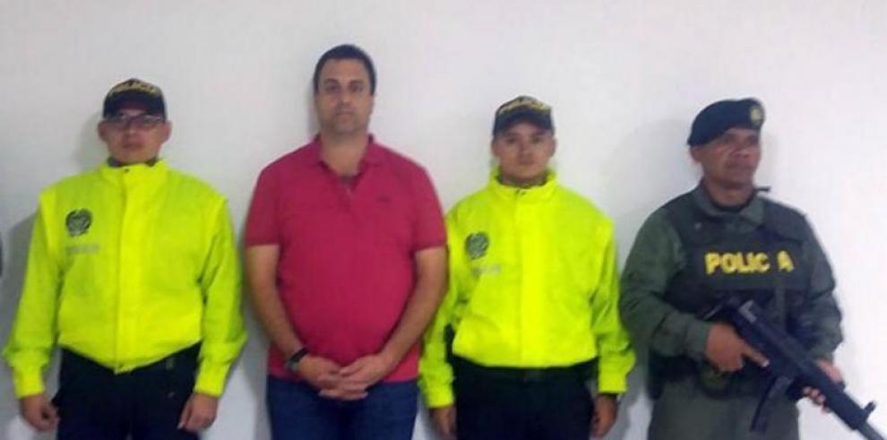 Colombia extradita a EEUU al colombo-panameño Nidal Waked