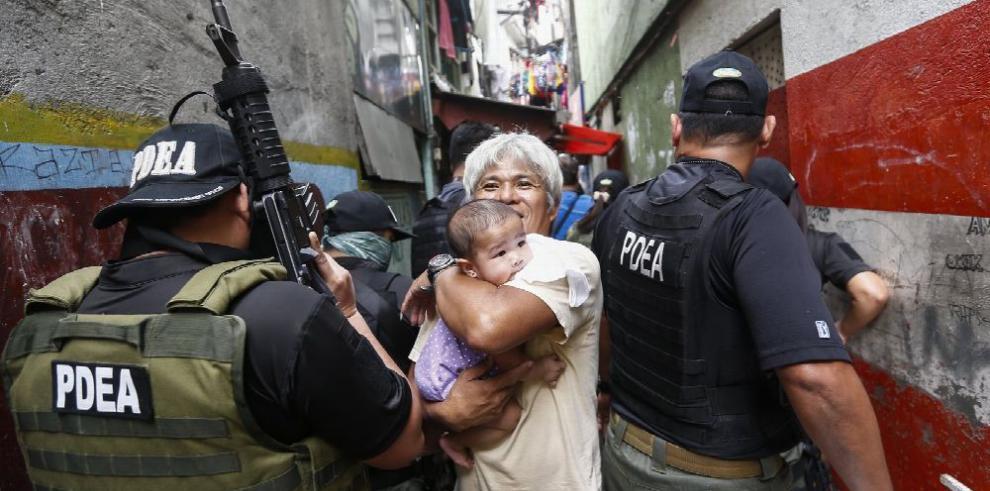 Guerra 'contra' las drogas en Filipinas
