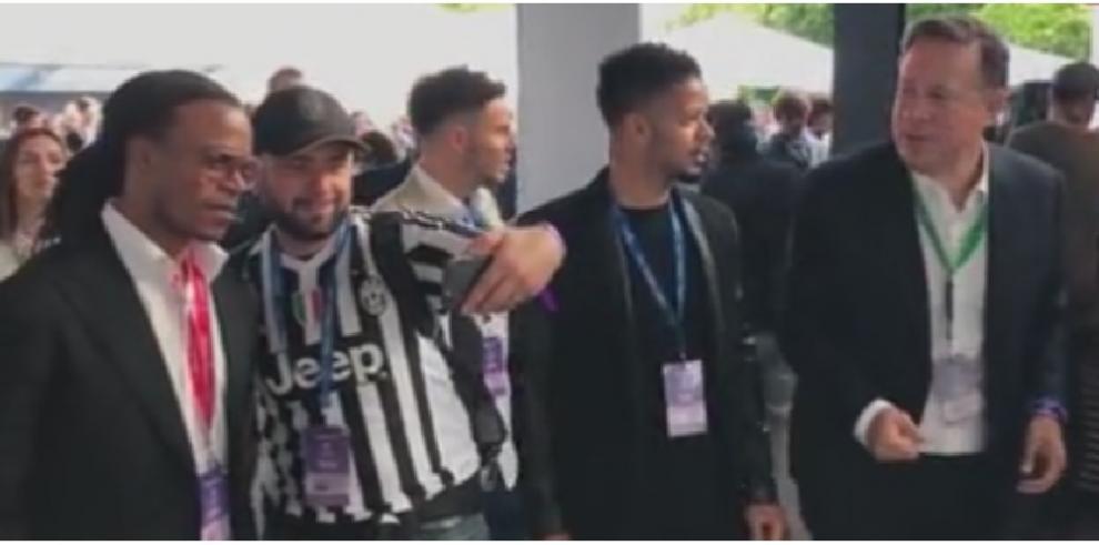 Varela asistió a la final de la Champions League invitado por un patrocinador