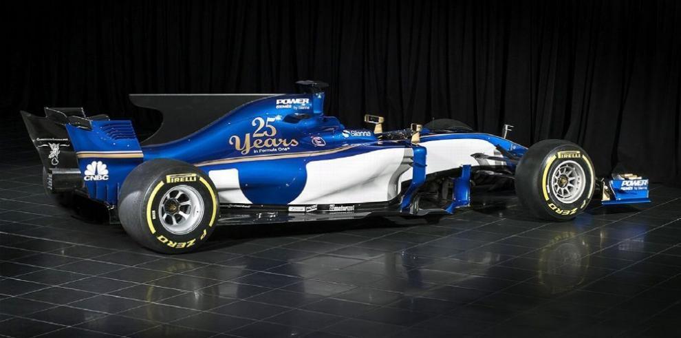 Escudería Sauber muestra su coche para la temporada