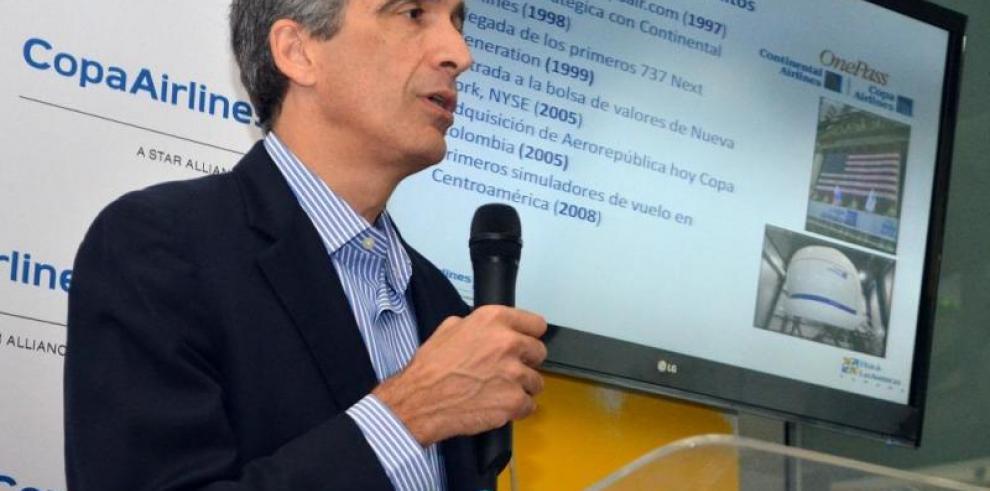 Copa Holdings ve con buenos ojos alianza de Avianca y United Airlines