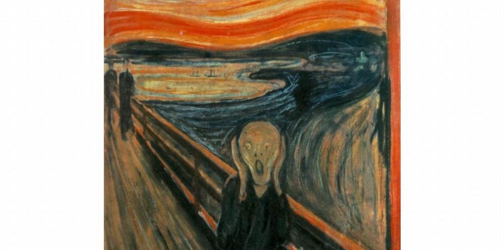 El cielo rojizo de Munch no es solo expresionista