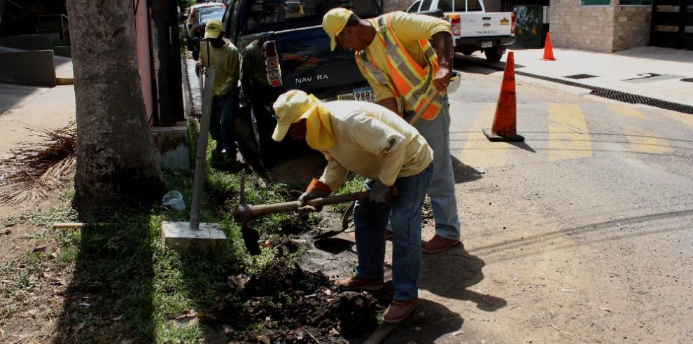 Iniciará primera fase para minimizar inundaciones en la calle 44 de Bella Vista