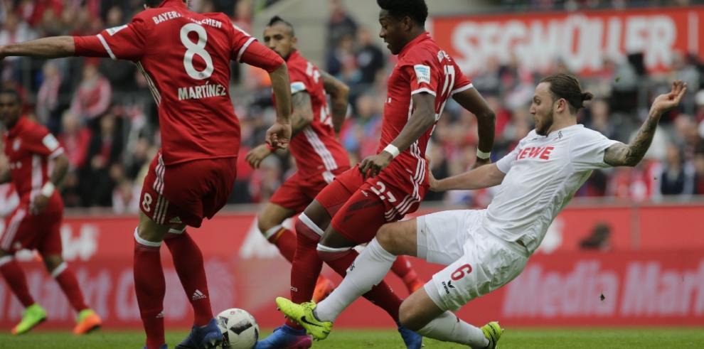 El Bayern golea en Colonia y el Dortmund destroza al Leverkusen
