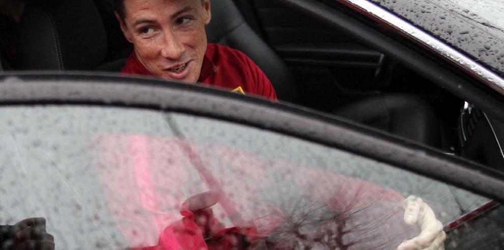 Fernando Torres es dado de alta y se alista para jugar