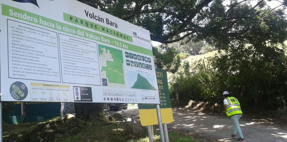 MiAmbiente suspende acceso al Parque Nacional Volcán Barú