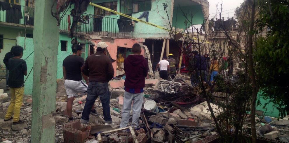 Sube a cuatro la cifra de muertos en una explosión en México