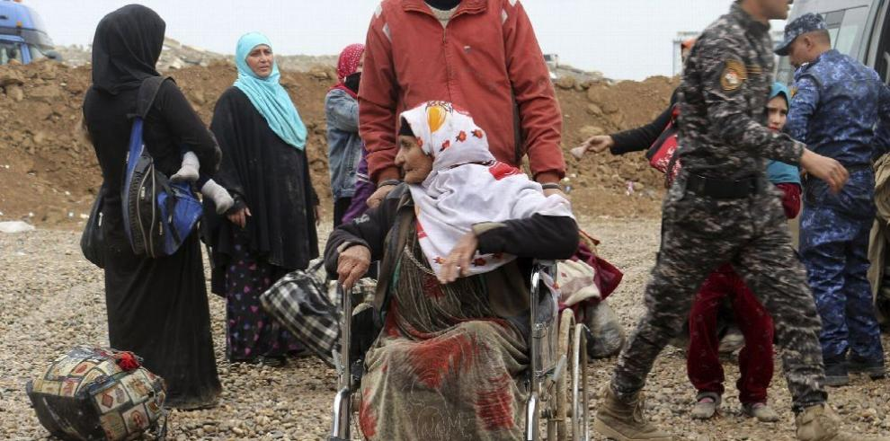 Cruz Roja denuncia uso de armas químicas en Mosul