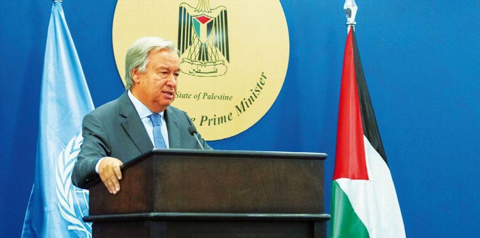 Palestinos piden a la ONU que Israel cumpla con la legalidad