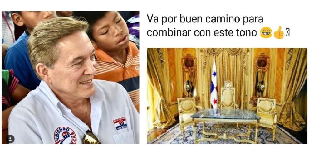 Memes de nuevo cambio de imagen de Nito Cortizo