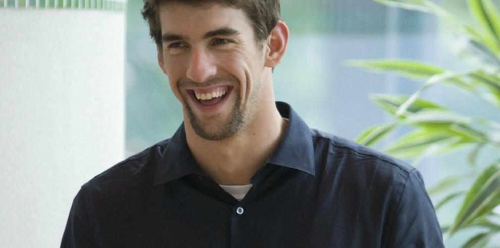Phelps no quisiera ser entrenador de su hijo