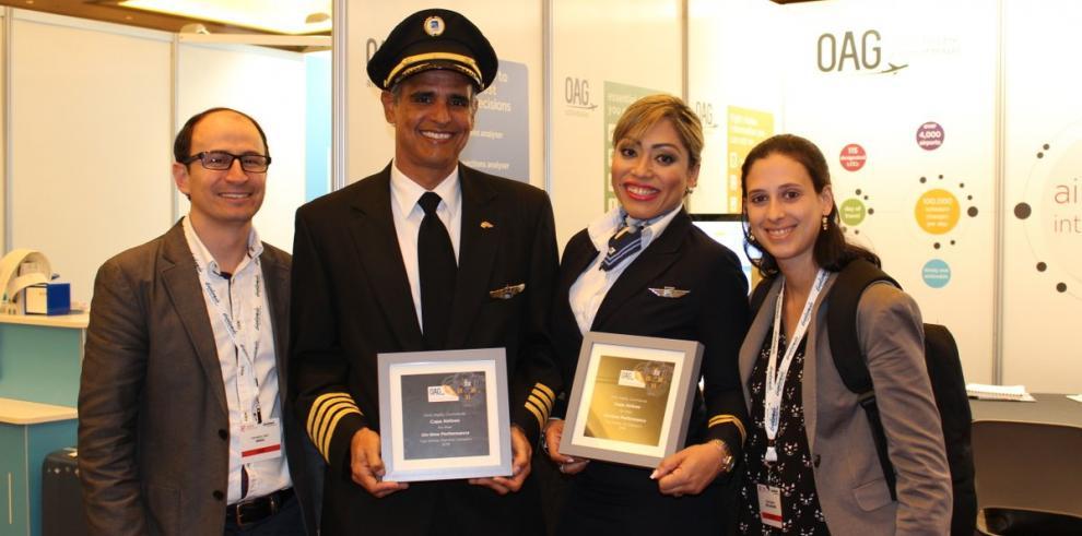 Copa recibe el premiocomo la segunda aerolínea más puntual del mundo