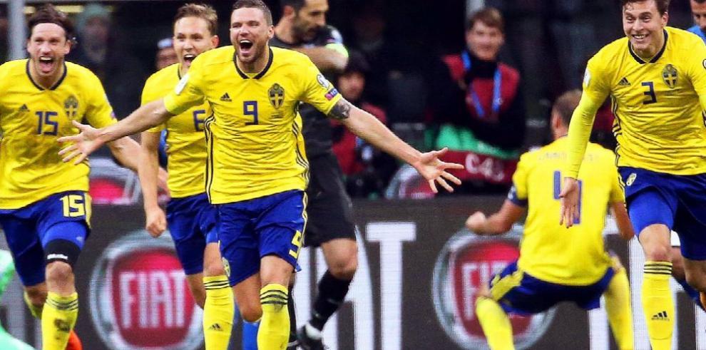 Suecia echa fuera de Rusia 2018 a Italia con empate en San Siro