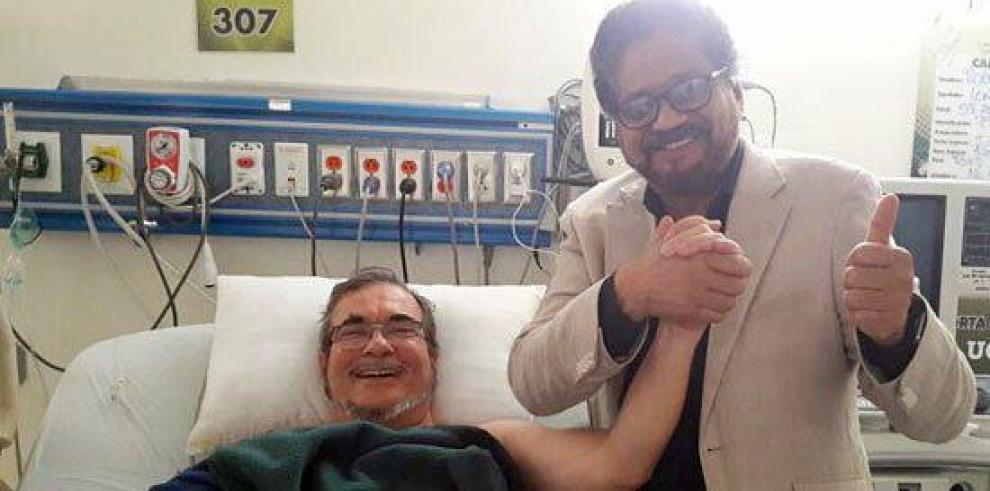 Las FARC dicen que evolución de salud de