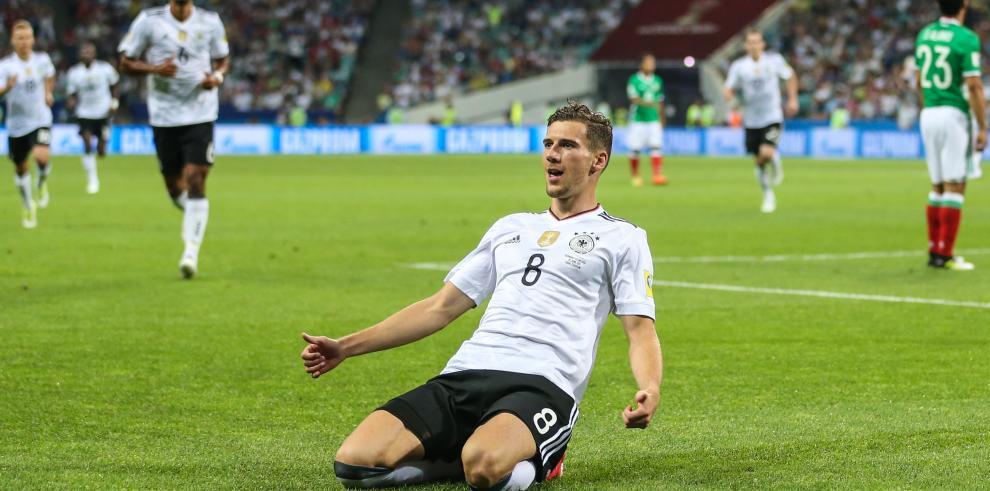 León Goretzka,futbolista alemán del futuro