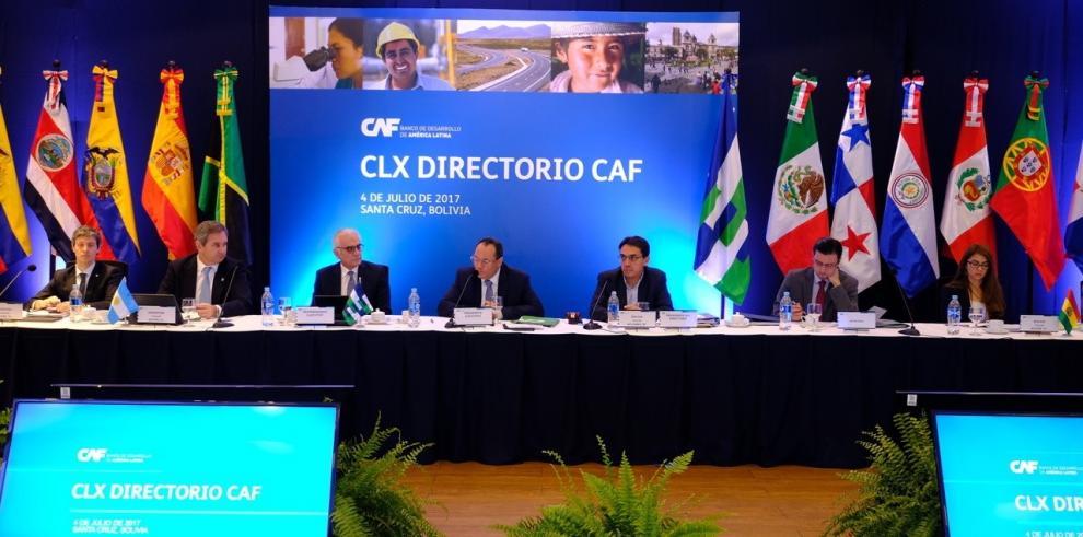 CAF aprueba $592 millones para proyectos de desarrollo y servicios básicos en A. Latina