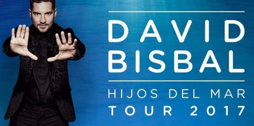 David Bisbal vendrá a Panamá en octubre