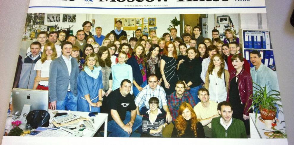 The Moscow Times dice 'goodbye' a su versión en papel