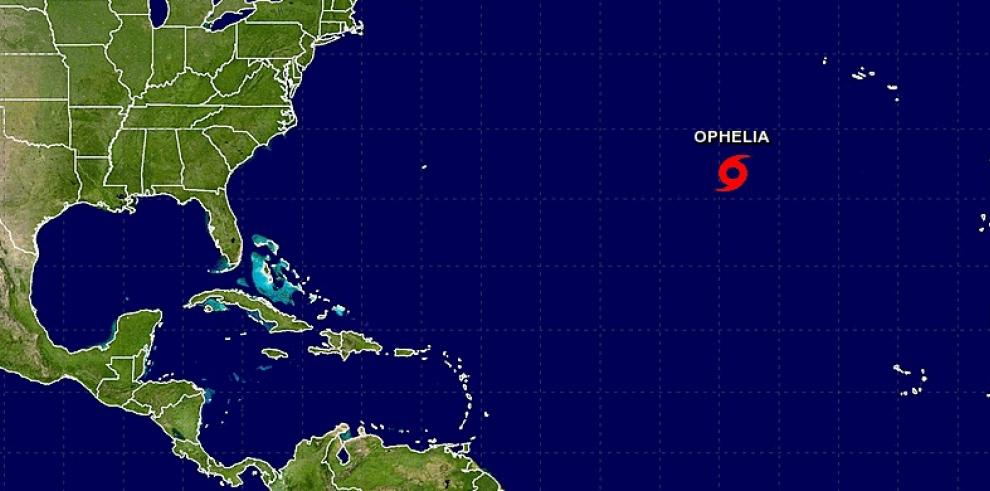 Ofelia será huracán el miércoles lejos de zonas habitadas del Atlántico