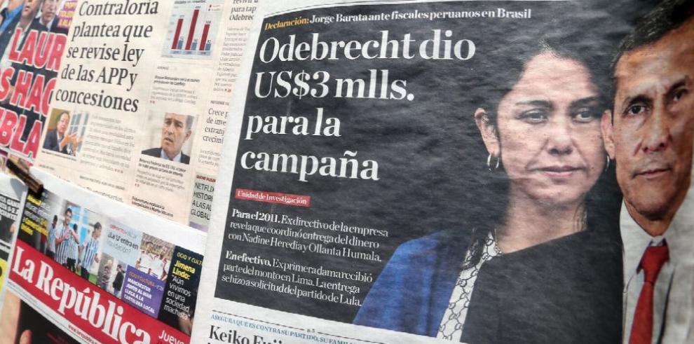 Humala niega aportes 'ilegales' en su campaña