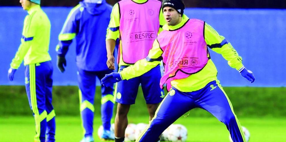 Chelsea le permite a Diego Costa faltar al entrenamiento
