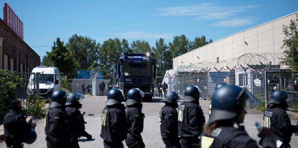 Un español y un venezolano, en prisión tras disturbios en Hamburgo