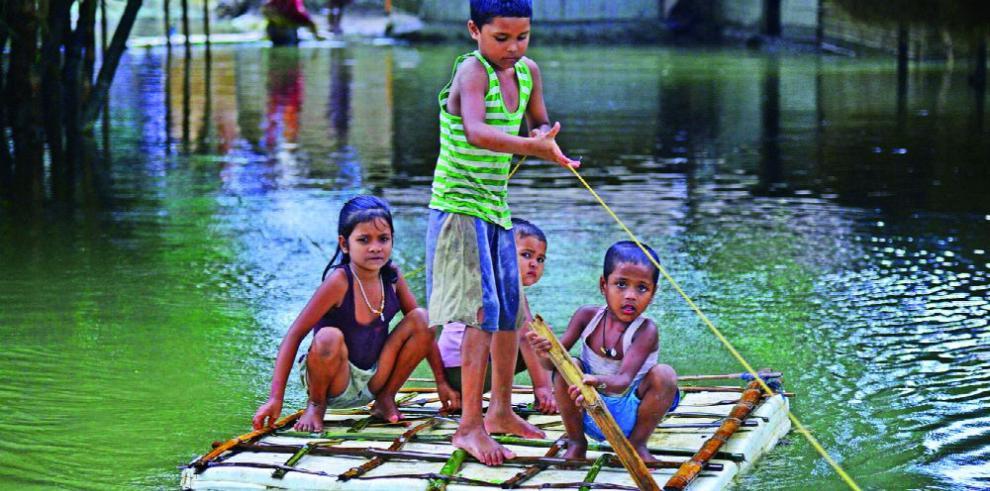 Inundaciones en India dejan más de 1.2 millones de afectados y 32 muertos