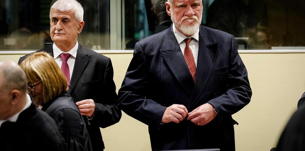 Praljak murió de 'insuficiencia cardiaca' por cianuro, según La Haya