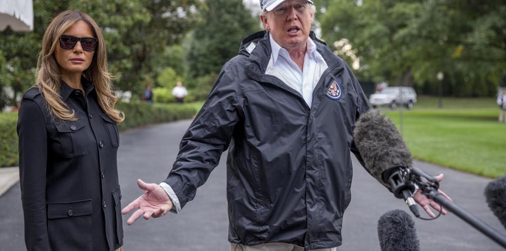 Trump visitará Puerto Rico para ver el impacto del huracán Irma