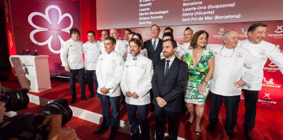 Once restaurantes españoles ostentan tres estrellas Michelin